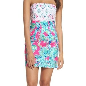 NWT💞LILLY PULITZER BRYNN*  STRAPLESS DRESS💞